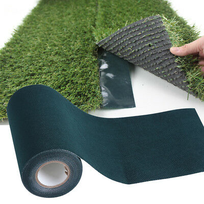 5mx15cm Artificial Grass Green Joining Fixing Turf Tape Lawn Carpet Seaming EB