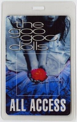 Goo Goo Dolls authentic 2002 concert Laminated Backstage Pass Gutterflower Tour