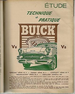 Revue Technique Automobile 110 Rta 1955 Etude Buick V8 + Evolution Renault 4Cv