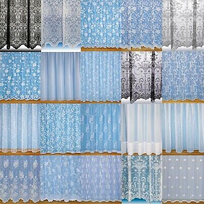 Amazing Value Net Curtains Choice Of Design~Quality Nets Width Sold By The Metre