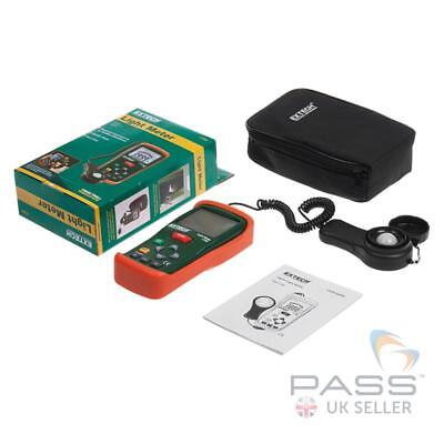 NEW Extech LT300 Light Meter - Foot-candles or Lux, LCD Screen / UK Stock