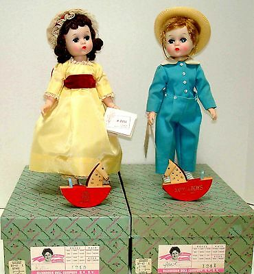 Tommy & Katie Lissy for FAO Schwarz  RARE Vintage'62 In Original Boxes! Lovely!
