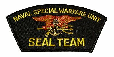 1c229750440 Usn Navy Naval Special Warfare Unit Seal Team Trident Patch Frogmen Sea Air  Land