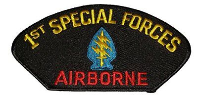 Us Army First 1St Special Forces Sf Command Airborne Patch Veteran Green Berets