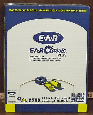 200 New Ear Classic Plus Ear Plugs With Cord Nib ***Make Offer***