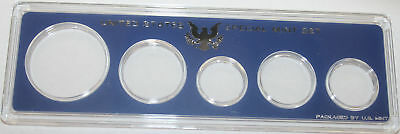 Supplies Original Government Packaging for SMS coins CASE ONLY NO COINS