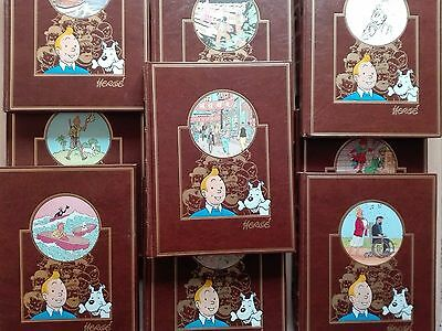 Tintin –''L'Oeuvre Intégrale D'Hergé''. Hand Signed By B.peeters+Free Adhesives