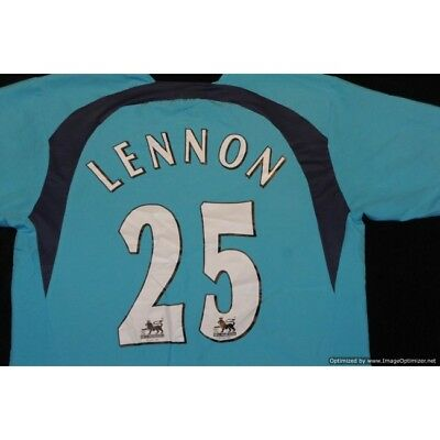 Tottenham Hotspur Spurs Puma 2006-2007 Away Football Shirt Lennon 25 MEDIUM