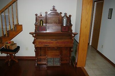 Antique Cornish & Co Washington NJ Pump Organ