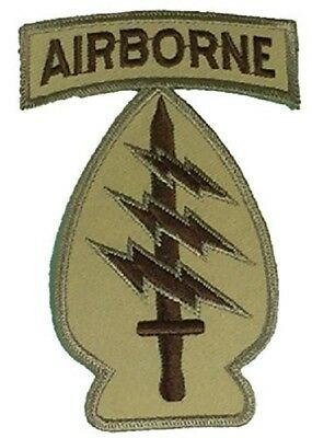 Us Army 1St First Special Forces Sf Command Patch Desert Tan Vet Green Berets