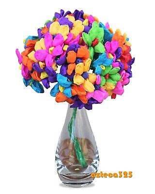 Mexican Paper Flowers Teresita Bouquet Bunch 60 flowers …