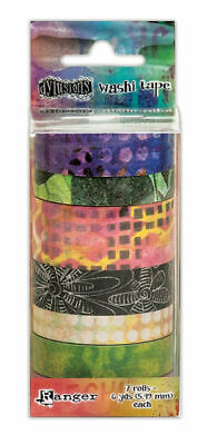Washi Tape 3 - Dylusions - 7 rolls of 5.49m each