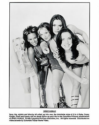 Spice World Movie Stills 2 B&W Photo 3 Color Slides Spice Girls Elton John