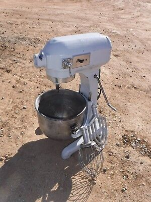 Hobart A-200 Commercial 20 Qt Mixer With Bowl & 2 Attachment 115V