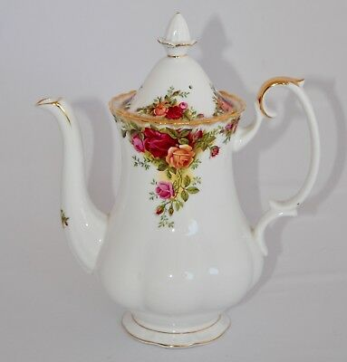 Vintage Royal Albert OLD COUNTRY ROSES Coffee Pot - 900ml 1st Qlty Original B/S