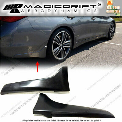 For 14 15 16 17 Infiniti Q50 S SPORTS OE Style Pair of REAR Splash Mud Guards