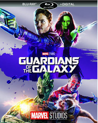 Guardians of the Galaxy (Blu-ray Disc, 2017, Includes Digital Copy) NEW SEALED