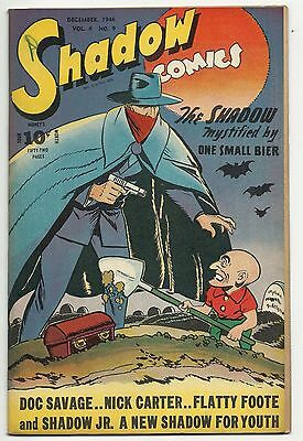 Golden Age Shadow Comics Vol. 6 #9 - first appearance of Shadow, Jr. - 8.0 VF