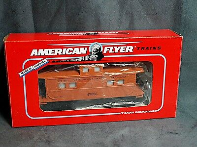 American Flyer By Lionel 49006 Animated Milwaukee Road Caboose MIB