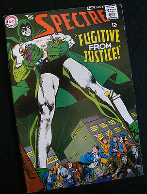 Spectre #5 (Dc 1968) Neal Adams Story And Art! Higher Mid-Grade