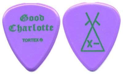 Good Charlotte authentic 2004 tour band issued concert Guitar Pick collection