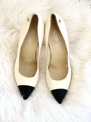 55e87084168 CHANEL 16A CREPE Fabric Mary Jane Ankle Strap Pumps Heels Shoes ...
