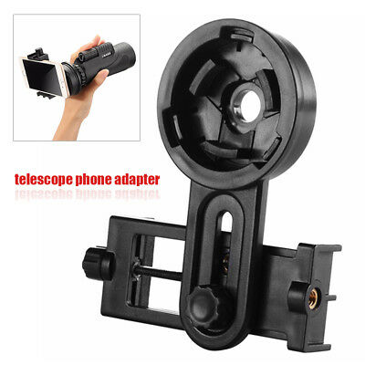 Telescope Microscope Cell Phone Mount Holder Adapter Interface Bracket Universal