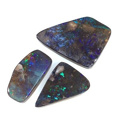 Australian Boulder Opal. Solid natural POLISHED GEMSTONES by Smart Opals