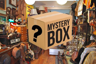 Item Lot Box Vintage Retro Rare X5-10 Bundle weird oddities antiques worth £20+