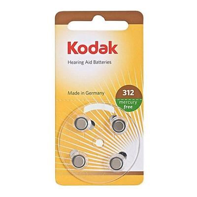 Kodak Hearing Aid Battery 312 PR41 K312ZA 1.45V High Quality Temperature Storage