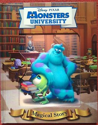 Disney Pixar Monsters University Magical Story 3d Cover Children/Kids Age 2+,New