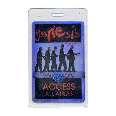 Genesis authentic 1992 Laminated Backstage Pass We Can't Dance Tour Phil Collins