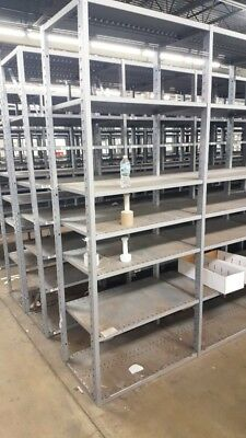 Steel Warehouse Shelving Sections