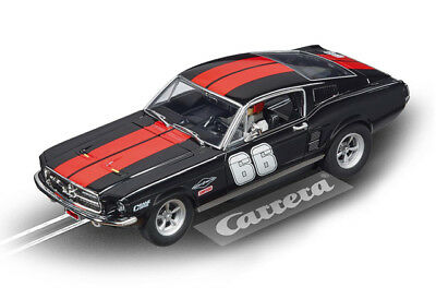 """Carrera 27553 - Evolution Ford Mustang GT """" no.66 """" Car New and in original box"""