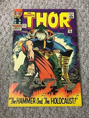 The Mighty Thor # 127 - 1St Appearance Of Pluto - Odin Hercules - Kirby Art. Vf-