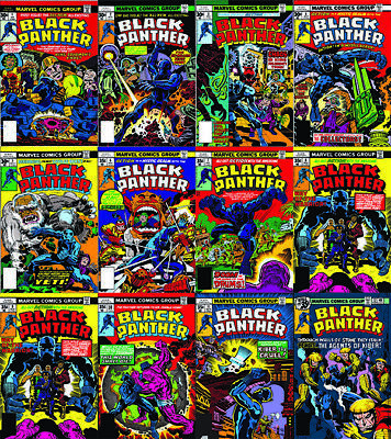 Black Panther Vol. 1-5 + Jungle Action Digital Comic Books PDFs DVD