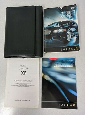 genuine jaguar xf owners manual handbook 2010 2014 inc navigation rh picclick co uk 2011 jaguar xf owners manual pdf jaguar xj 2011 user manual