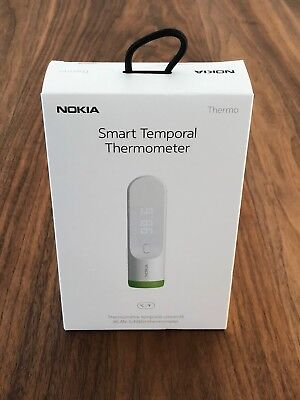 Nokia Thermo Smart Temporal Thermometer Brand New and Sealed UPC 3700546702464