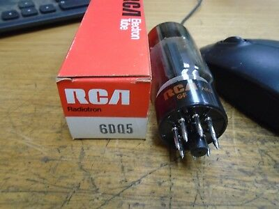 lot of  2 new in box RCA 6DQ5  vacuum tubes valve radio audio vintage amplifier