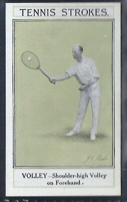 Sarony-Tennis Strokes-#20- Quality Card!!!