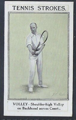 Sarony-Tennis Strokes-#22- Quality Card!!!