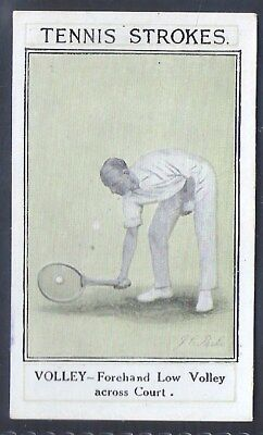 Sarony-Tennis Strokes-#23- Quality Card!!!