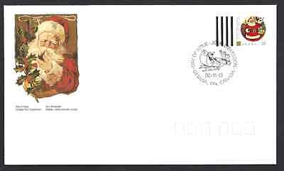 Canada     # 1455       CHRISTMAS  PERSONAGES        New 1992 Unaddressed
