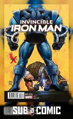 INVINCIBLE IRON MAN #11 VARIANT (Marvel Road to Civil War 2 2016 1st Print)