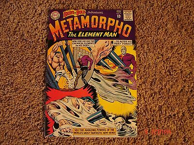 The Brave & The Bold #57. 1st app. of Metamorpho The Element Man. Fine. Cond.
