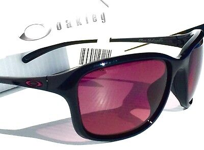 NEW* Oakley She's Unstoppable POLARIZED G40 Blackberry Women's Sunglass 9297-05