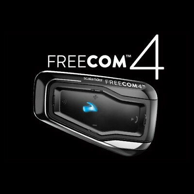 Cardo Scala Rider Freecom 4 Duo Motorcycle Bluetooth Communication System