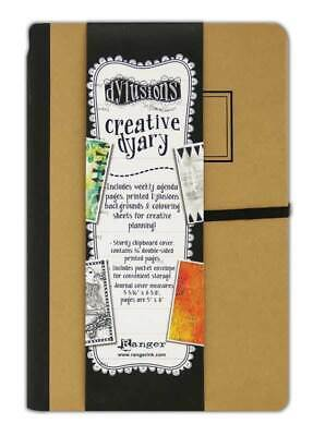 Dylusions Creative Dyary 2 Small - Art Journal Planner Diary