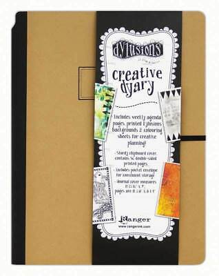 Dylusions Creative Dyary 2 - Large - Art Journal Planner Diary - 9 x 12