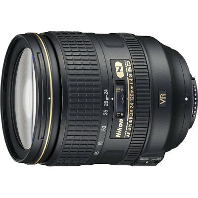 Nikon 2193 - 24-120mm f/4G ED VR AF-S NIKKOR Lens for Nikon DSLRs Factory Refurb